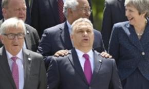 Juncker, Orban all'origine di fake news