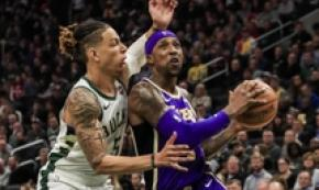 Nba: Los Angeles Lakers vs Milwaukee Bucks