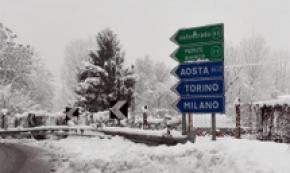 Incidente bus studenti in Val d'Aosta