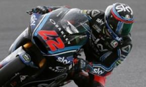 Francesco Bagnaia (Sky) nelle libere di Moto2 a Motegi