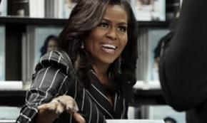 Biografia Michelle Obama verso record