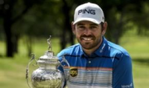 Golf: Louis Oosthuizen vince South African Open,Johannesburg