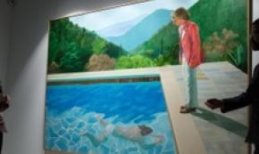 Hockney artista da record da Christie's