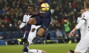 Parigi, sfida tra il Paris St.Germain e l'EA Guingamp