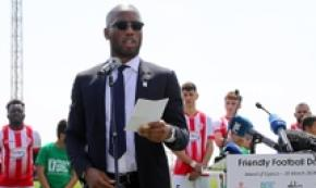 Didier Drogba ospite della Friendly Football Day a Cipro