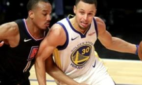 Nba: Stephen Curry mette a referto 24 punti contro Clippers
