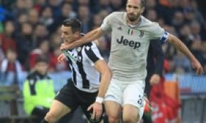 Juve: Chiellini in campo con l'Inter