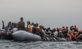 Libyans force way onto Nivin ship, violence against migrants