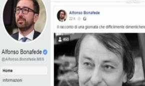 Battisti: Bonafede posta video, piovono critiche su Facebook