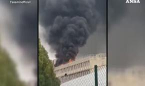 Lione, incendio ed esplosione all'Universita'