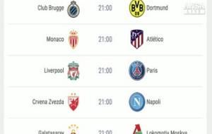 Champions, stasera Inter-Tottenham e Napoli a Belgrado