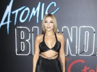 L'attrice Jossie Ochoa a prima 'Atomic Blonde' a Los Angeles