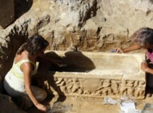 Roman sarcophagi discovered near Stadio Olimpico