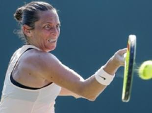 Miami Open, subito eliminata Vinci