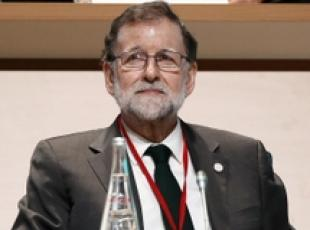 Premier spagnolo Rajoy a vertice One Planet Summit di Parigi