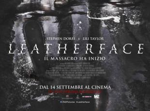 La locandina del film «Leatherface»