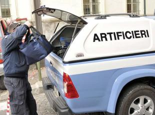 artificieri polizia