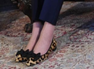 Londra: 10 di Downing Street, le scarpe di Theresa May