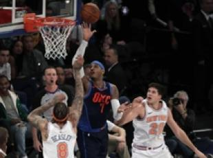 NBA: Oklahoma City Thunder vs New York Knicks