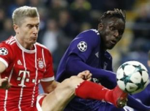 Champions: a Bruxelles Bayern vince 2-1 con l'Anderlecht