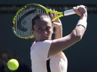 Tennis: Miami Open, subito eliminata Vinci