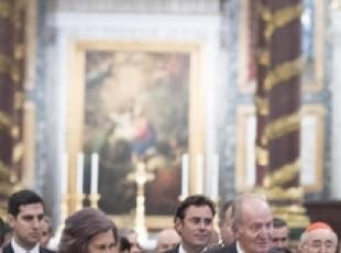 Spanish royals unveil new S.Maria Maggiore LED lighting