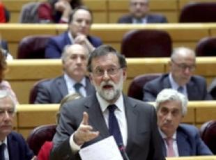 Spagna: premier Rajoy durante question time in Parlamento