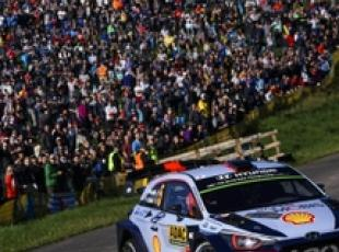 Rally Germania, La Hyundai i20 Coupe WRC di Thierry Neuville