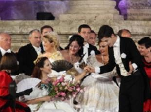 La Traviata in scena all'Anfiteatro Romano di Amman