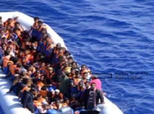 11 dead bodies on rescued migrant dinghy