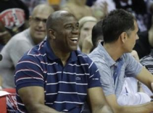 Samuel Jackson e Magic Johnson al Forte