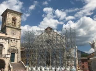 Italy strives to rebuild quake-damaged heritage