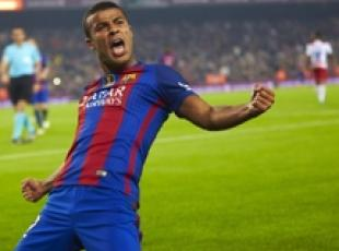 Soccer: Rafinha moves from Barca to Inter
