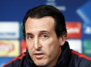 L'allenatore del Paris Saint-Germain, Unai Emery