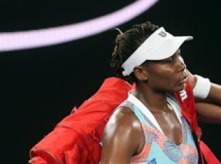 Tennis: Australia, Venus Williams fuori