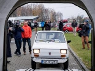 Fiat 126 da Polonia negli Usa in regalo per Tom Hanks