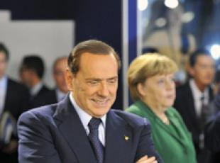 Merkel wishes Berlusconi well for general election