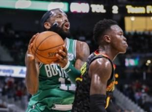 Nba: Irving 30 punti, Atlanta Hawks-Boston Celtics 99-110