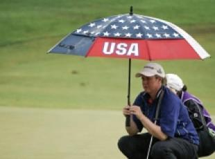 Golf: Brittany Lincicome (Usa) a Taipei sotto l'ombrello
