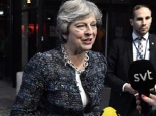 Brexit: May, 'sono fiduciosa'
