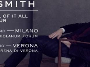Sam Smith in Italia per due date