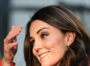 Kate al Great Ormand Street Hospital a Londra