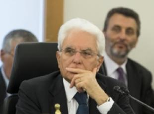Mattarella calls for EU to be firm on migrant crisis