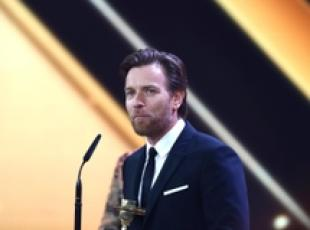 Ewan McGregor ai 53° Golden Camera Awards ad Amburgo