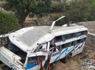 India: autobus in scarpata, 30 morti