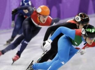 Olympics: Short track team gets silver (2)