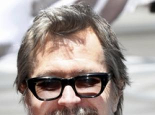 Gary Oldman alla Walk of Fame per l'illusionista Criss Angel