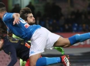 Soccer: Napoli cut Juve's lead to two points
