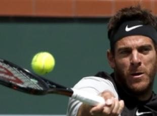 Indian Wells: Del Potro batte Federer