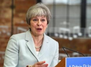 Il primo ministro britannico Theresa May